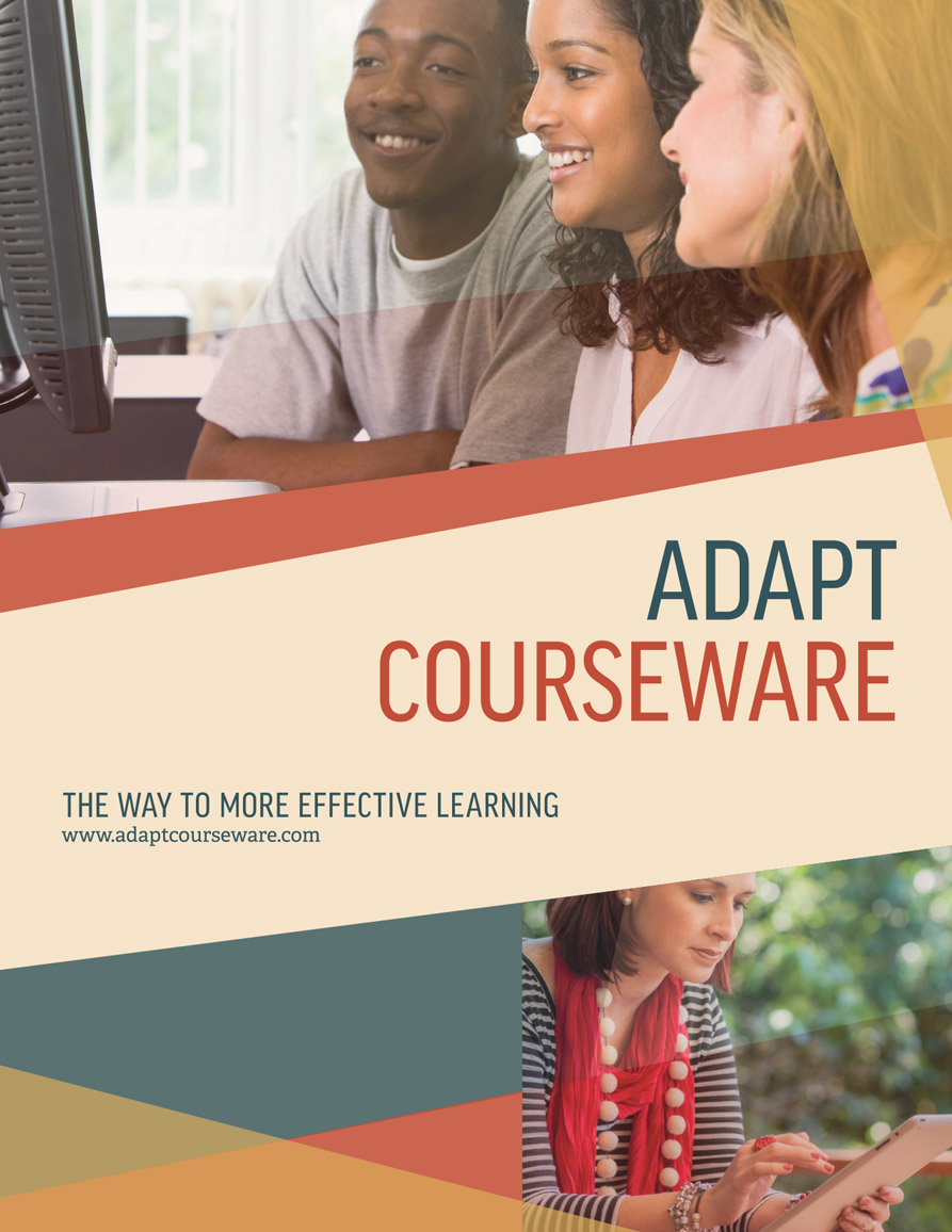 Adapt Courseware Cover