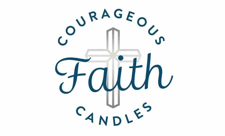 Courageous Faith Candles